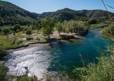Área recreativa Isla de l'Esgoletja y río Xúquer