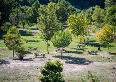 Área recreativa Isla de l'Esgoletja en Sumacàrcer