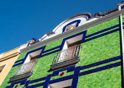 Casa verde en Sumacàrcer