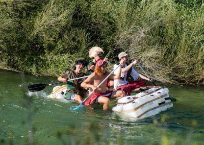 Descenso humorístico por el río Júcar en Sumacàrcer